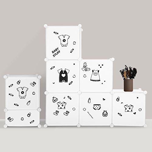 LANGRIA 6-Cube DIY Portable Closet Wardrobe, Or...