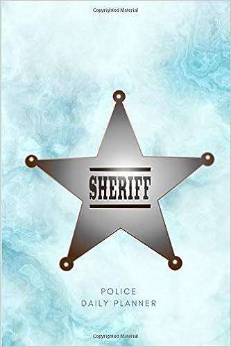 44744df8312b Amazon.com: Undated Sheriff Daily Planner: Small Mini Calendar With ...