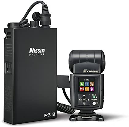 Nissin i60A Air Flash, Wireless 2.4GHz Nissin Air System Receiver For Nikon - Includes Nissin USA 2 Year Warranty
