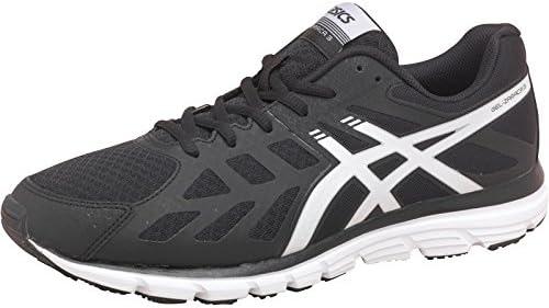 Casco sustantivo Ajustamiento  Mens Asics Gel Zaraca 3 Lightweight Natural Running Shoes Onyx/Snow Guys  Gents: Amazon.co.uk: Shoes & Bags