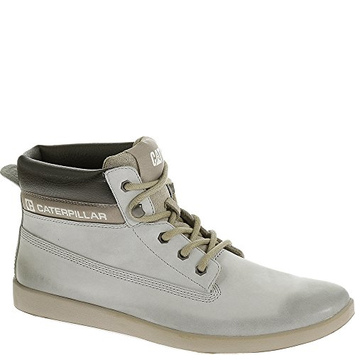 Caterpillar Hommes Poe Brunir Brights Sneakers Occasionnels Gris Clair