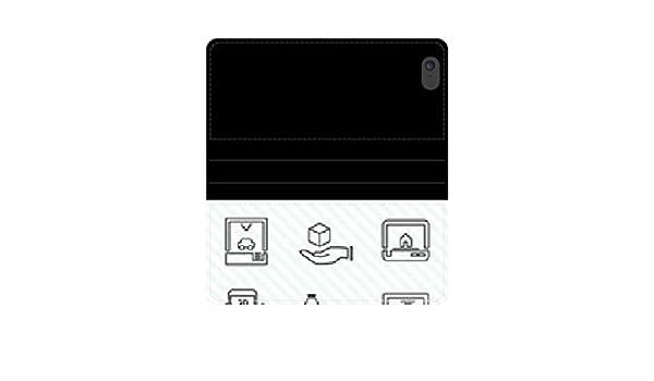 Impresora 3D iconos Funda Flip wallet case kit con ranuras para ...