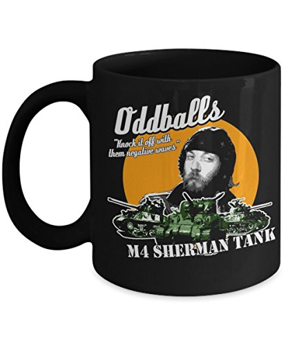 Oddball Kelly's Heroes M4 Sherman Tank Funny Coffee Mugs, Father's Day, Mother's day, Sister, Brother, Parent, Friend, Son, Daughter, Xmas, Gift for C