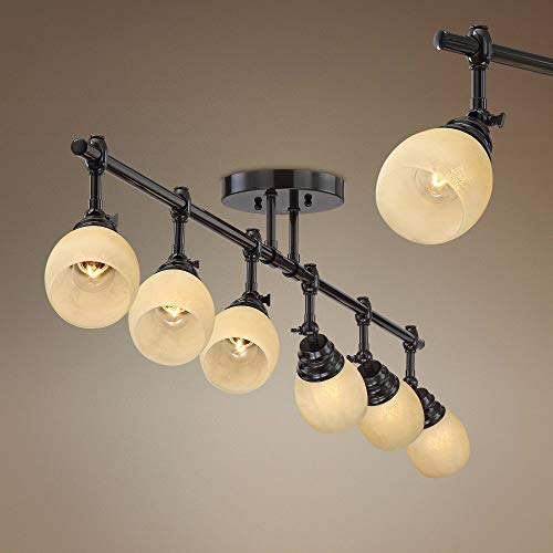 (Pro Track Elm Park Collection Bronze 6-Light Fixture - Pro Track)
