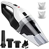 Holife Handheld Vacuum Cordless Hand Vacuum Cleaner Rechargeable Hand Vac, 14.8V Lithium with Quick Charge, Lightweight Wet Dry Vacuum for Home Pet Hair Car Cleaning Larger Image