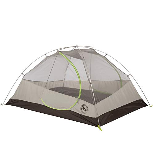 Big Agnes Blacktail 3 Package: Includes Tent and Footprint, Gray/Green, 3 Person ()