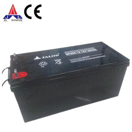 12 Volt 200Ah Sealed Lead Acid battery. AGM solar deep cycle 200 Amp Hour, 2400 watt hour 2.4kWh