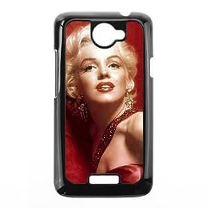 HTC One X Phone Case Black Marilyn Monroe PLU6207019
