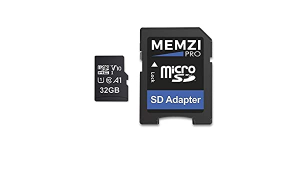 MEMZI Pro 32GB 100MB/s Clase 10 A1 App Performance V10 ...