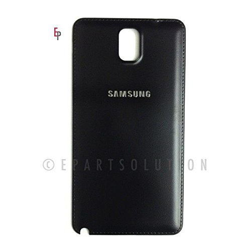 ePartSolution_Housing Battery Door Back Cover for Samsung Galaxy Note 3 N9000 N9005 N900A N900P N900T Replacement Part USA Seller (Black)