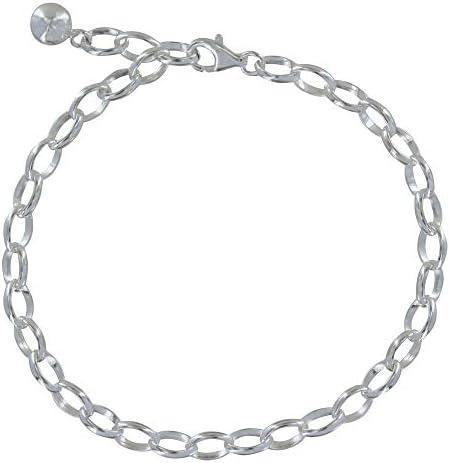Les Poulettes Jewels - Sterling Silver Charms Bracelet - Classics