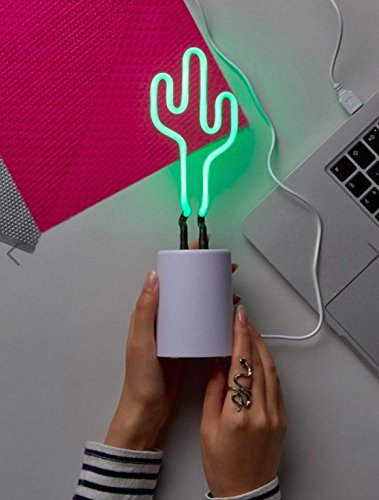 SunnyLife Cactus Neon Light Small