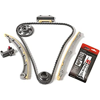 SCITOO Timing Chain Kit fits for 2003-2007 2006 Honda Accord EX DX LX SE 2.4L DOHC K24A4 K24A8 Engine