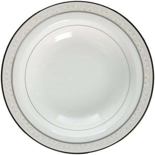 Platinum Fruit Dessert Bowl - Noritake Montvale Platinum Fruit Bowl