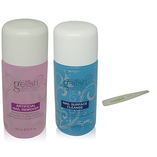 NEW Gelish Soak Off Gel Nail Polish Remover & Cleanser Bottl