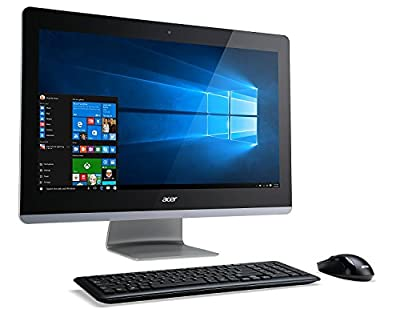 """Acer Aspire Z3 AiO 23.8"""" TOUCH Desktop 500GB SSD (Intel Core i7-7700K processor - 4.20GHz TURBO to 4.50GHz, 16 GB RAM, 500 GB SSD, 23.8"""" FullHD TOUCHSCREEN, Win10) PC Computer All-in-One AZ3-715"""