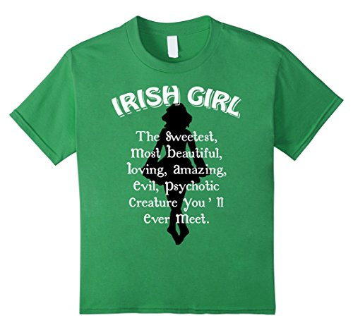 Kids IRISH DANCE GIRL HAPPY ST.PATRICK