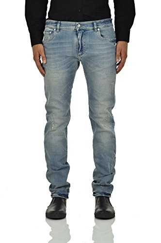 Dolce&Gabbana Stretch Jeans Light Men - Size: 52 - Color: Blue - New