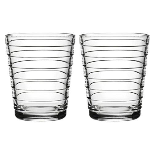 iittala Aino Aalto Medium Tumblers - Set of 2 (Color=Clear (AI9502522))