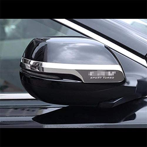 Exterior Parts Ytn 2Pc Sl Chrome Steel Rearview Side Mirror Cover Trim Fit For 2017-2018 Honda Crv Cr-V