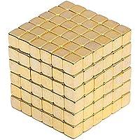 Microcase Neocube Manyetik Toplar Neodyum Sihirli Mıknatıs 5 mm 216 Adet Küp - Gold