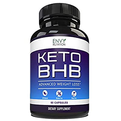 Best Keto Diet Pills – Shark Tank Advanced Weight Loss - BHB Salts Support Fat Burning, Ketosis, Improved Energy and Enhanced Focus