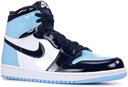 Húmedo hacerte molestar Zapatos  Amazon.com: AIR JORDAN 1 Retro High Og 'Blue Chill' Womens -Cd0461-401 -  Size W8.5: Sports & Outdoors