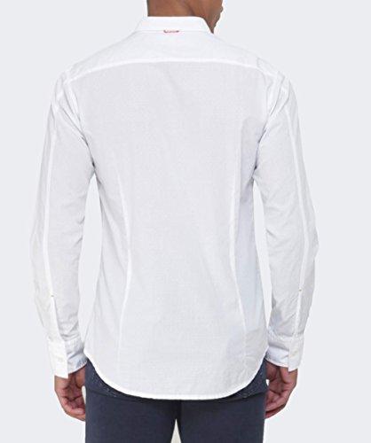 Hugo Boss Orange Slim Fit EdipoE-Shirt XXL Weiß