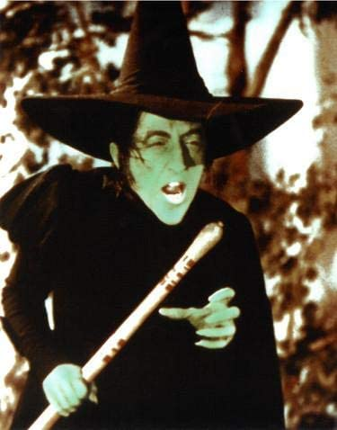 The Wizard Of Oz Wicked Witch Of The West Vintage Vintage Color 8x10 Photo Margaret Hamilton Movie Photos At Amazon S Entertainment Collectibles Store