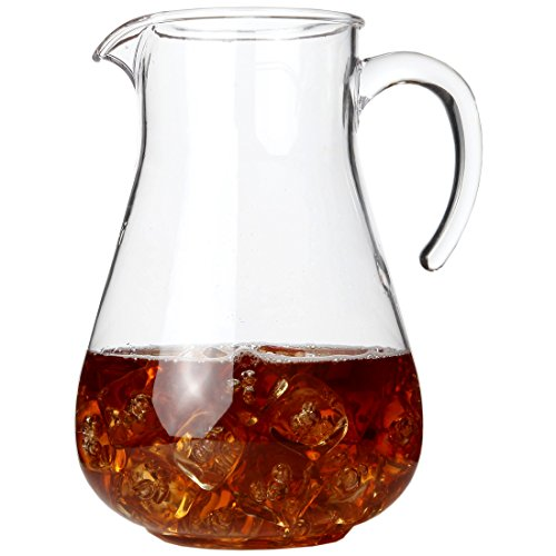 Lily's Home Break Resistant Plastic Pitcher, the Large Capacity Makes it Excellent for Parties, Both Indoor and Outdoor (98 Ounces)