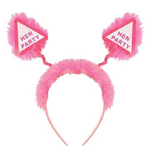Photobooth Props - 12pcs Hen Party Head Boppers Pink Fluffy Girls Night Out - Seat Inflat Flip Bike Solo Motorcycl Chopper Handlebar Lure Headband Party Chopper Seat Motorcycle Props -
