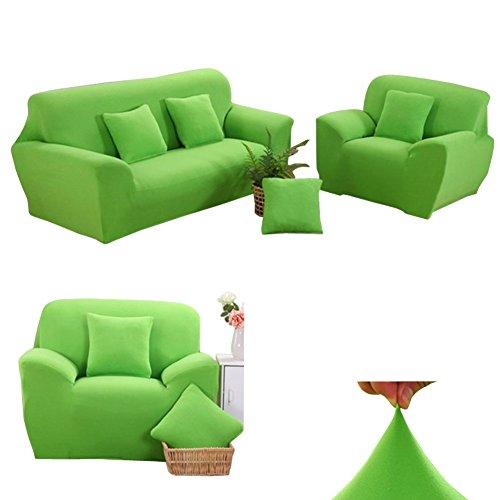 Dasior Solid Stretch Sofa Slipcover,Soft Furniture Protector