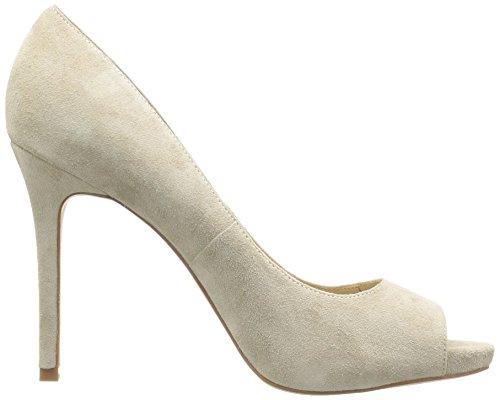 La Donna Delle Donne Peep-to-peep Toe Piattaforma Stiletto Pompa Greige