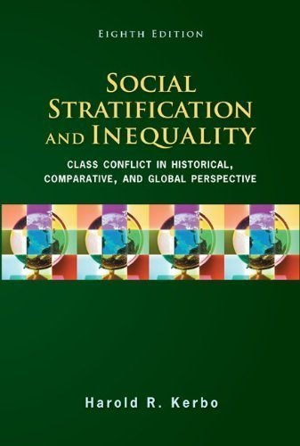 Social Stratification and Inequality 8th Edition by Kerbo, Harold [Paperback] ebook