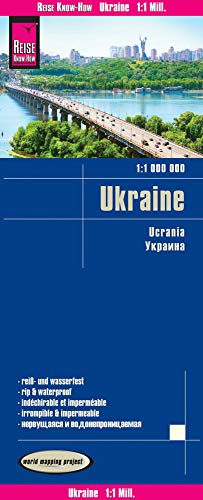 Reise Know-How Landkarte Ukraine (1:1.000.000): reiß- und wasserfest / world mapping project...