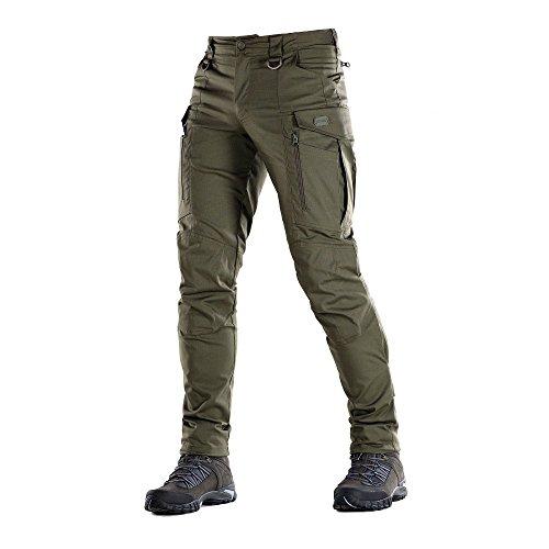 Conquistador Flex - Tactical Pants Men - with Cargo Pockets (Olive Dark, XL/S)