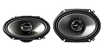 Pioneer TS-G4644R 200 Watts 4 x 6 2-Way G-Series Coaxial Full Range Car Audio Stereo Speakers