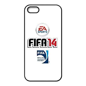 games FIFA 14 Logo iPhone 5 5s Cell Phone Case Black Special Tribute p6xr_3493944