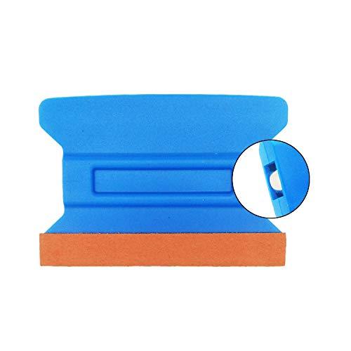 GUGUGI 4Inch Magnet Vinyl Wrap Squeegee Felt Edge Squeegee Vinyl Scraper Tool Auto Vinyl Wraps Tool for Car Vinyl Wrapping, Window Tinting, Wallpaper Installing