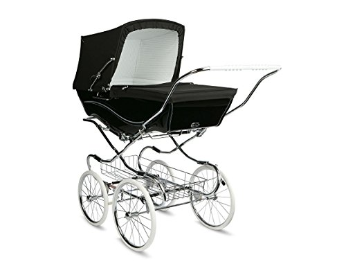 Silver Cross Kensington Pram - Black by Silver Cross