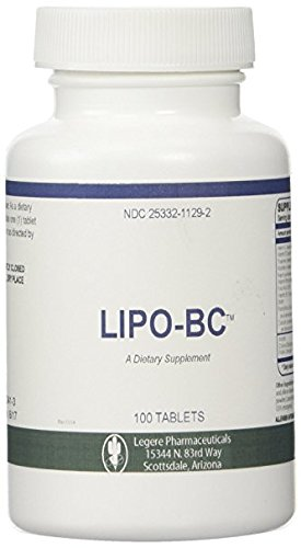 Lipo BC 100 [100 tablets] Lipotrophic Weight Loss Supplement -