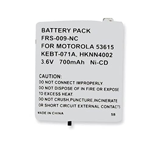 Motorola MT350R 2-Way Radio Battery (Ni-CD 3.6V 700mAh) Rechargeable Battery - replacement for Motorola - 700mah Nicd Two Way Radio