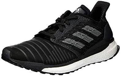 adidas Australia Women's Solar Boost Running Shoes, Core Black/Grey/Footwear White