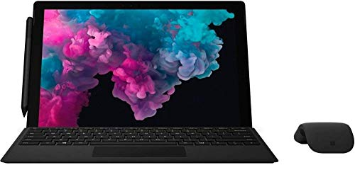 "Microsoft Surface Pro 6 12.3"" (2736 x 1824) Touch Screen - Intel 8th Gen Core i5 (up to 3.40 GHz) - 8GB Memory - 256GB SSD - with Keyboard, Surface Pen and Arc Mouse - Black (Renewed)"