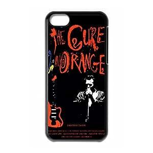 H3C51 The Cure C2T1QT funda iPhone funda caso 5c teléfono celular cubren PK5WCS7YT negro