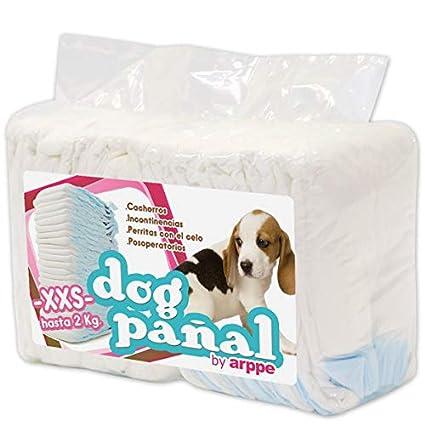 arppe 2975010500 Pañal para Perro, Talla XXS
