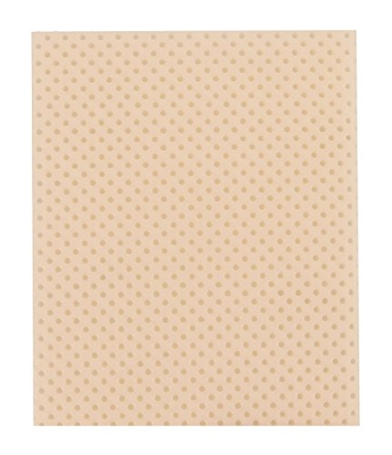 Fabrication Enterprises 24-5242-4 24 x 18 x 0.093 in. Manosplint Ohio 15 Percent Thermoplastic Splinting Sheet - Perf Beige44; Case of 4 by Fabrication