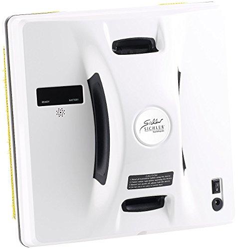 Sichler Haushaltsgeräte Intelligenter Profi-Fensterputz-Roboter PR-041 V3 mit Fernbedienung