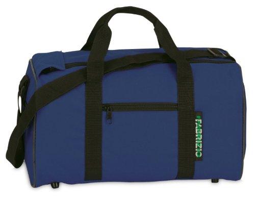 Fabrizio Jungen Mädchen Kinder Sporttasche Freizeittasche Reisetasche, marineblau, 39 x 21 x 18 cm