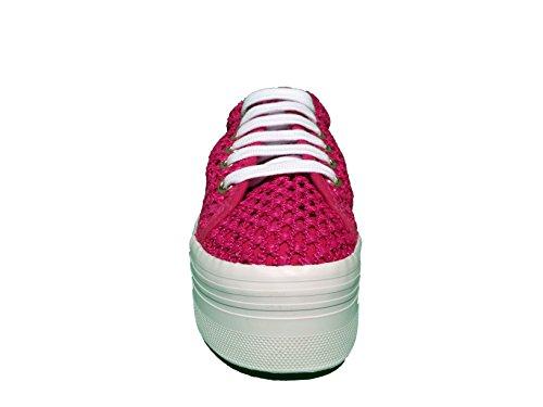 Sneaker JC Play Zomg Mesh Fuschia White